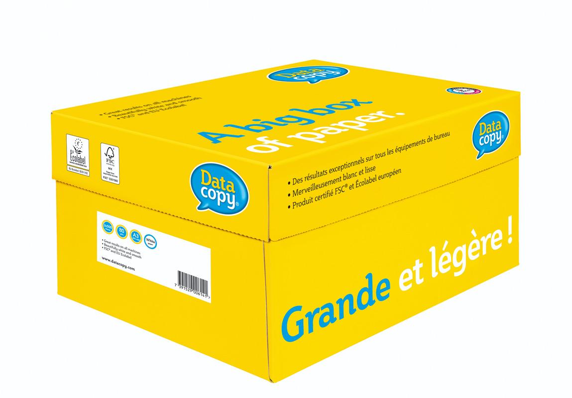 Бумага А3 80гр./м2. 500 листов Data Copy M-real - фото 2