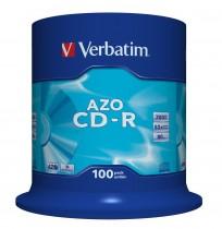 Диск CD-R 700 Mb/80 min 52x 100шт/уп. Cake Box