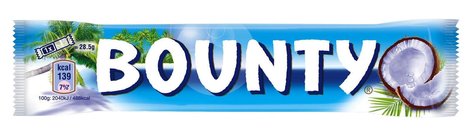 Батончик шоколадный Баунти, 57г. Bounty - фото 1