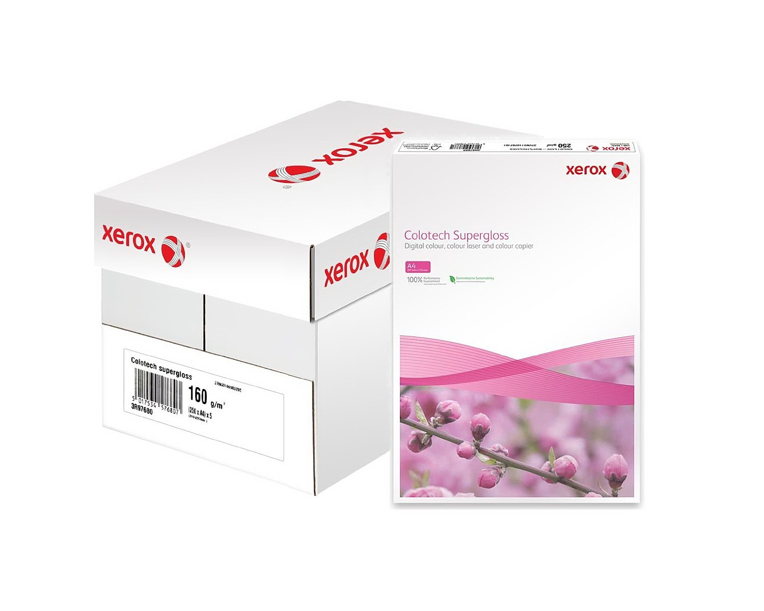 Бумага Colotech+ SuperGloss A3 250гр./м2., 100листов (003R97687) XEROX - фото 2