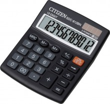 Калькулятор бухгалтерский SDC-812BII 12 разрядов, 125х100х34мм.
