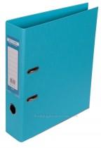 Регистратор 7см. А4 (двухстороннее покрытие PVC) ELITE, голуб.