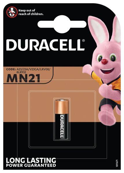 Батарейка MN21 (А23) 12V Duracell - фото 2
