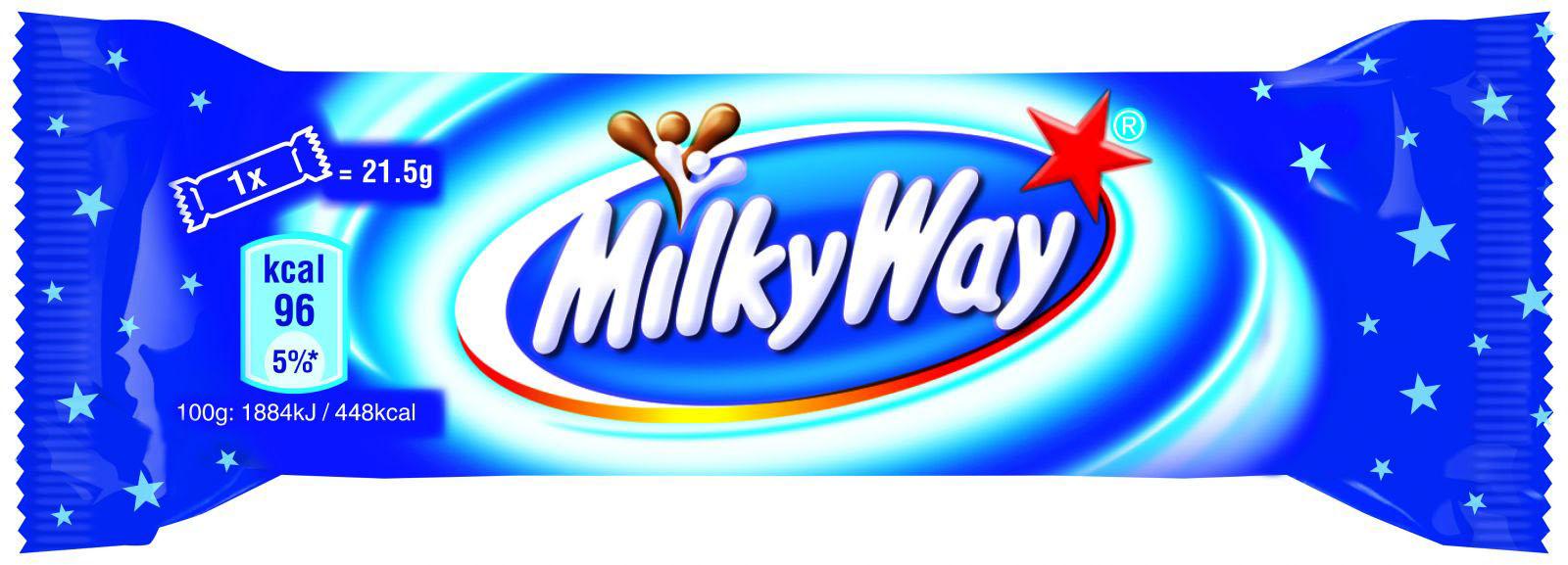 Батончик шоколадный Милки Вэй, 21,5г. Milky Way - фото 1