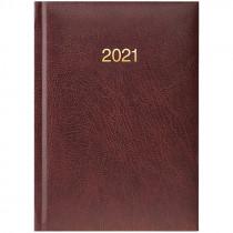 Ежедневник датированный карманный 2021 Miradur, золот. тиснение, борд.