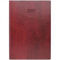 Ежедневник датированный Стандарт 2021 Flex, слепое тиснение, борд.
