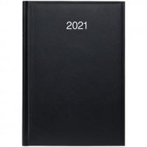 Ежедневник датированный Стандарт 2021 Miradur, сереб. тиснение, черн.