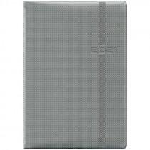 Ежедневник датированный Стандарт 2021 Soft Carbon, серый