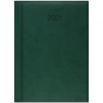 Ежедневник датированный Стандарт 2021 Torino, слепое тиснение, зелен.