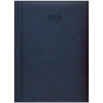 Ежедневник датированный Стандарт 2021 Torino, слепое тиснение, син.