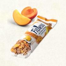 Батончик с цельными злаками персиком и абрикосом Фитнес 23,5г.