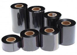 "Риббон Wax/Resin, стандарт, RF43, втулка-1/2"", 110мм. х 74м. OUT (краской наружу)"