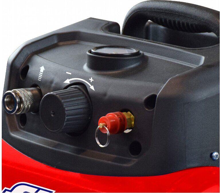 Безмасляный компрессор поршневой прямоприводный CUBY 6/1100 FIAC (ресивер 6 л, пр-сть 160 л/мин) FIAC - фото 5
