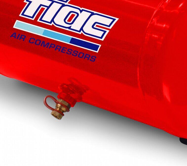 Безмасляный компрессор поршневой прямоприводный CUBY 6/1100 FIAC (ресивер 6 л, пр-сть 160 л/мин) FIAC - фото 6