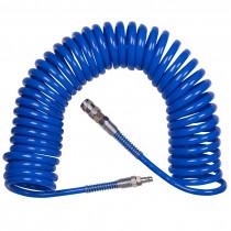 "Шланг спиральный для компрессора 1/4""PT 8 мм х 12 мм х 10 м"