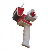 Пистолет-диспенсер для упаковочного скотча, макс. шириной до 5см. и длиной 200м., фикс. лезвие