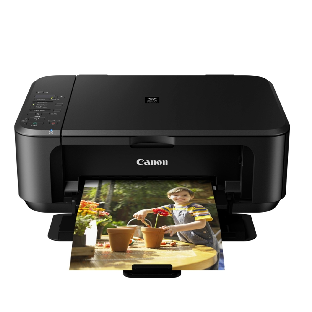 МФУ струйный PIXMA Ink Efficiency E3340 with Wi-Fi, черн. Canon - фото 4