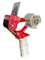 Пистолет-диспенсер для упаковочного скотча, макс. шириной до 5см. и длиной 400м., выдвижное лезвие