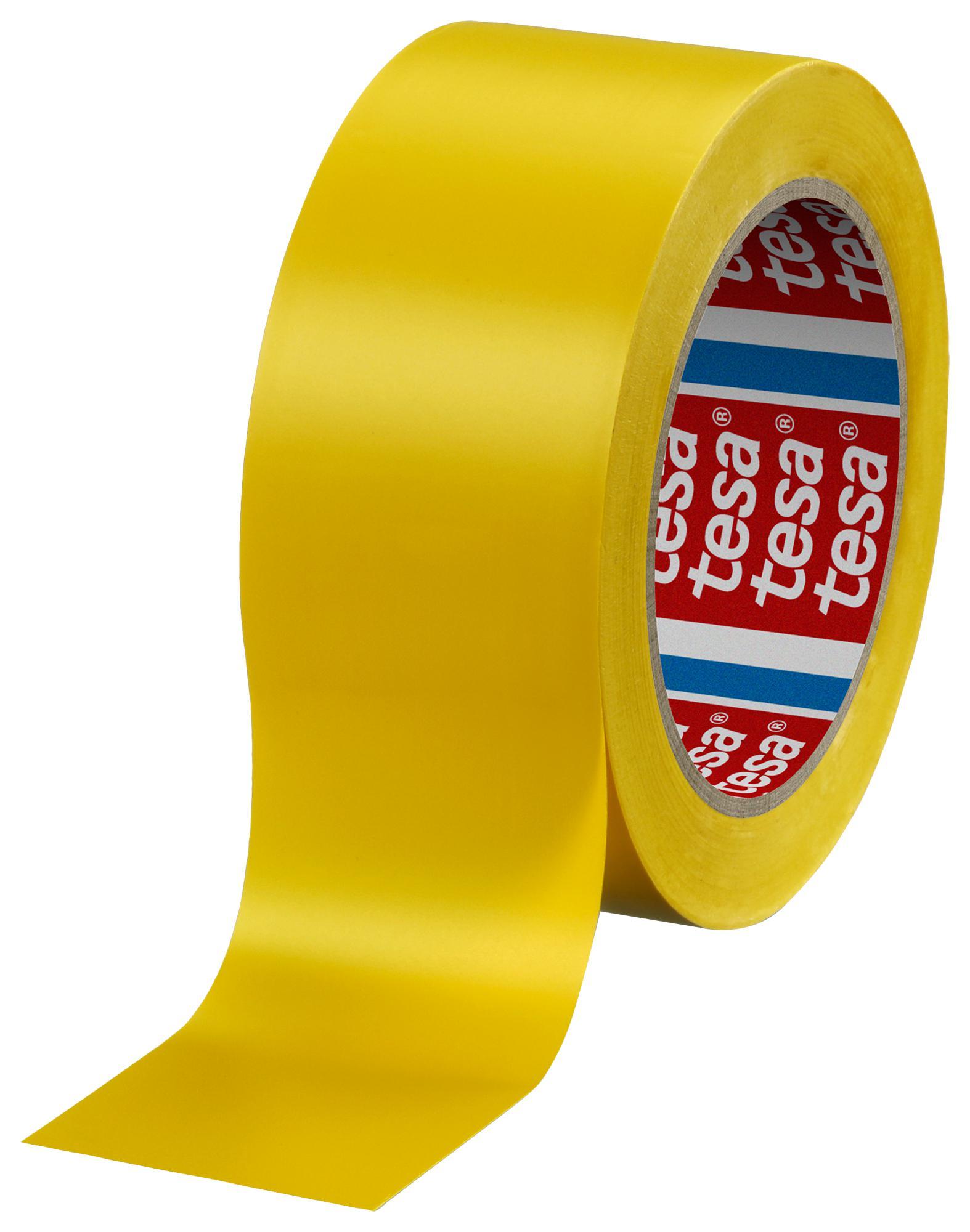 Лента сигнальная самоклеющаяся 60760, 50мм., 33м., желт. Украина - фото 1
