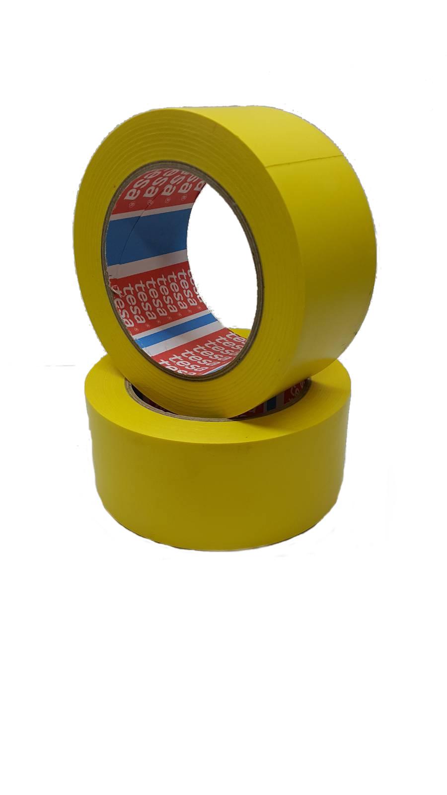 Лента сигнальная самоклеющаяся 60760, 50мм., 33м., желт. Украина - фото 2