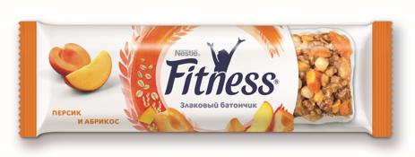 Батончик с цельными злаками персиком и абрикосом Фитнес 23,5г. Nestle - фото 2