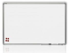 Доска белая магнитная сухостираемая ALU23 90*120см., алюминиевая рамка, лак