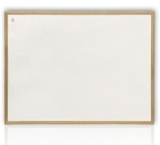 Доска белая магнитная сухостираемая (сосна) 80*120см., дерев. рамка,