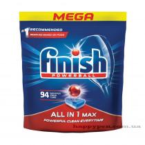 Таблетки для посудомоечных машин All in 1 MAX, 94шт/уп