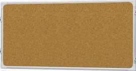 Доска модерационная 120х180см., пробковая, алюминиевая рамка