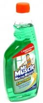 Жидкость для мытья стекол 500мл. Утренняя роса, запаска, зелен.