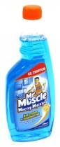 Жидкость для мытья стекол 500мл. После дождя, со спиртом, запаска, син.