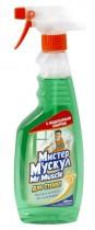 Жидкость для мытья стекол 500мл. Утренняя роса, с распылителем, зелен.