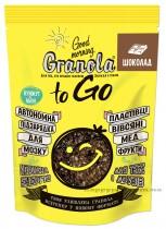 """Завтрак сухой запеченный GRANOLA TO GO """"Гранола с шоколадом"""", 140г."""