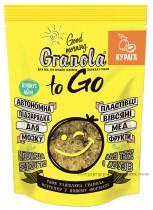 """Завтрак сухой запеченный GRANOLA TO GO """"Гранола с курагой"""", 140г."""