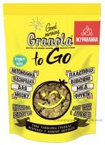 """Завтрак сухой запеченный GRANOLA TO GO """"Гранола с клюквой"""", 140г."""