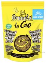 """Завтрак сухой запеченный GRANOLA TO GO """"Гранола с фиником и кокоcом"""", 140г."""