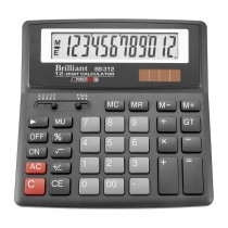 Калькулятор бухгалтерский BS-312 12 разрядов, 155х155х35мм