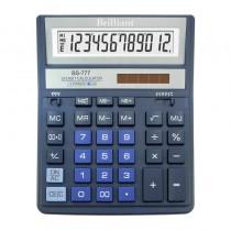 Калькулятор бухгалтерский BS-777BL 12 разрядов, 158х203,2x31мм., син.