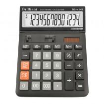 Калькулятор бухгалтерский BS-414 14 разрядов, 146х197х27мм.
