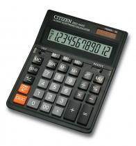 Калькулятор бухгалтерский SDC-444S 12 разрядов, 200х150х25мм., черн.