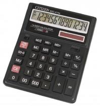 Калькулятор бухгалтерский SDC-414 14 разрядов, 158х203х31мм.