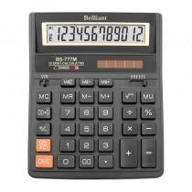 Калькулятор бухгалтерский BS-777M 12 разрядов, 158х203,2x31мм.