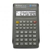 Калькулятор инженерный BS-120, 8+2 разрядов, 56 функций, 134х71х12мм.