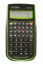Калькулятор инженерный SR-270, 10+2 разрядов, 236 функций, 2 линии дисплея,148х75х12,5мм.