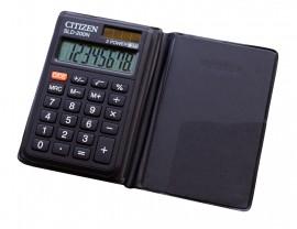 Калькулятор карманный SLD-200ІІІ 8 разрядов, 97,5х61х12мм.