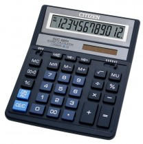 Калькулятор бухгалтерский SDC-888 XBL, 12 разрядов, 203,2х158х31мм., син.