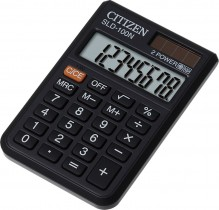Калькулятор карманный SLD-100 8 разрядов, 87х57х11мм.