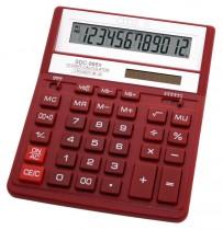 Калькулятор бухгалтерский SDC-888 XRD, 12 разрядов, 203,2х158х31мм., бордо