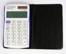 Калькулятор карманный CPC-110 10 разрядов, 105х64х10мм.