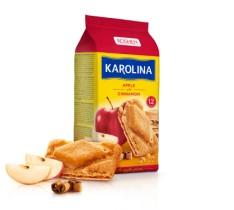 Печенье KAROLINA с грушей и карамелью, 225г.